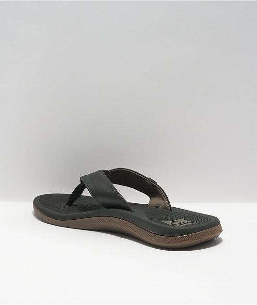 Reef Santa Ana Black Sandals
