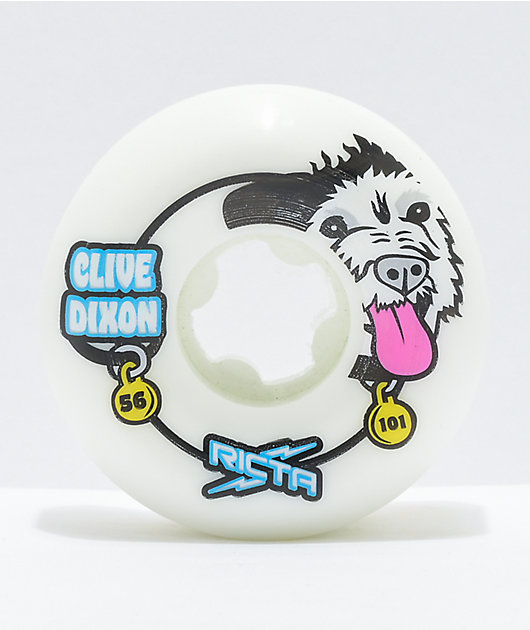 Ricta Clive Pro Wide 56mm 101a Skateboard Wheels