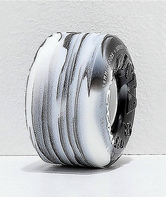 Ricta Clouds 56mm 78a Black & White Skateboard Wheels