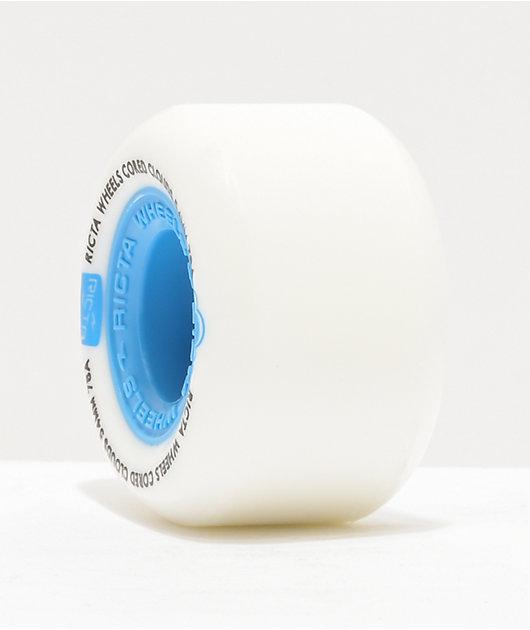 Ricta Cored Clouds 54mm 78a Blue Skateboard Wheels