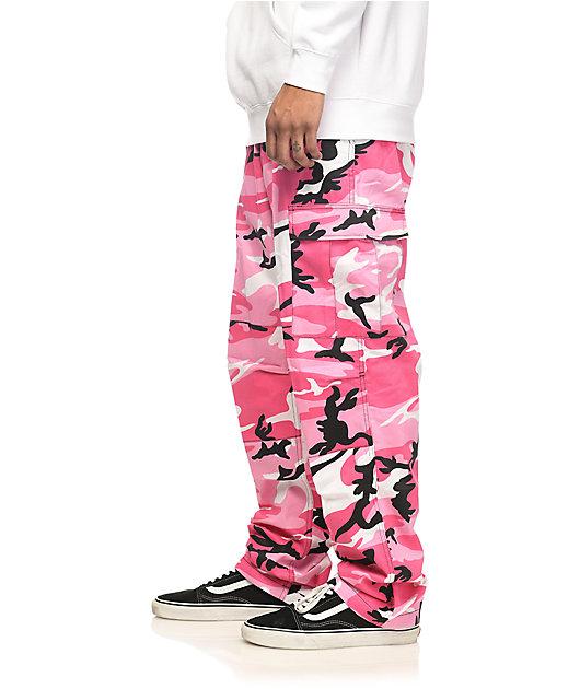 Rothco BDU Pink Camo Cargo Pants