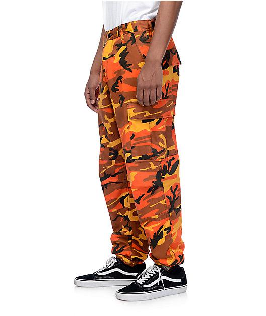 Rothco Bdu Savage Pantalones Cargo Camuflados En Color Naranja Zumiez