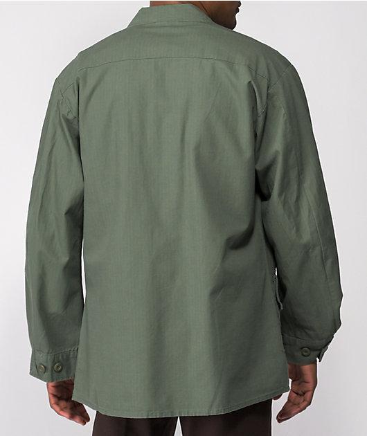 Rothco Overdyed Olive Vintage Fatigue Shirt