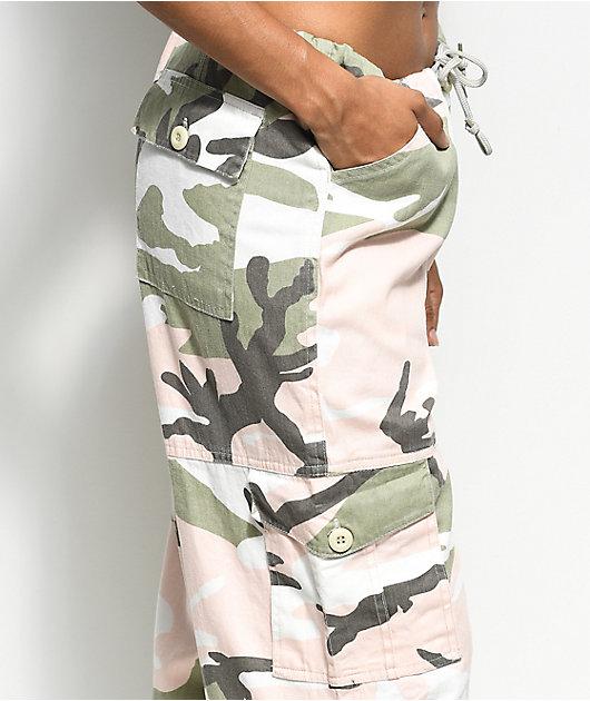 Rothco Pink & Green Camo Vintage Fatigue Pants