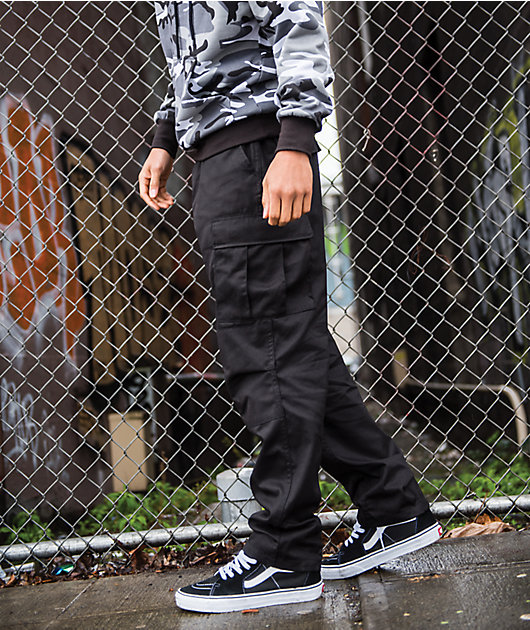 Rothco Tactical BDU Solid Black Cargo Pants