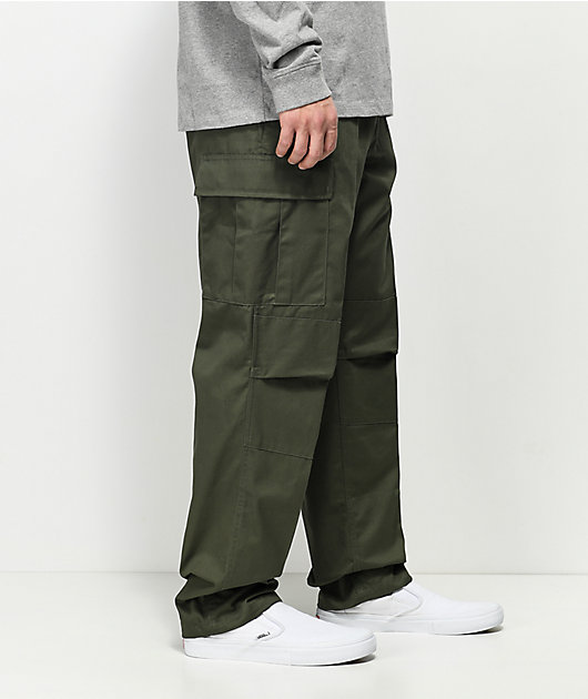 Rothco Tactical BDU Solid Olive Cargo Pants