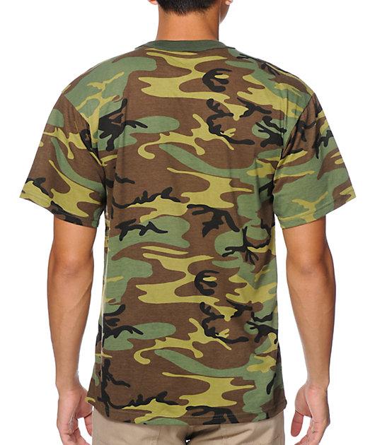 Rothco Woodland Camo T-Shirt