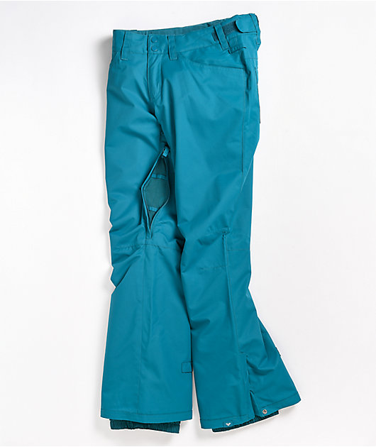 Roxy Backyard Blue 10K Snowboard Pants