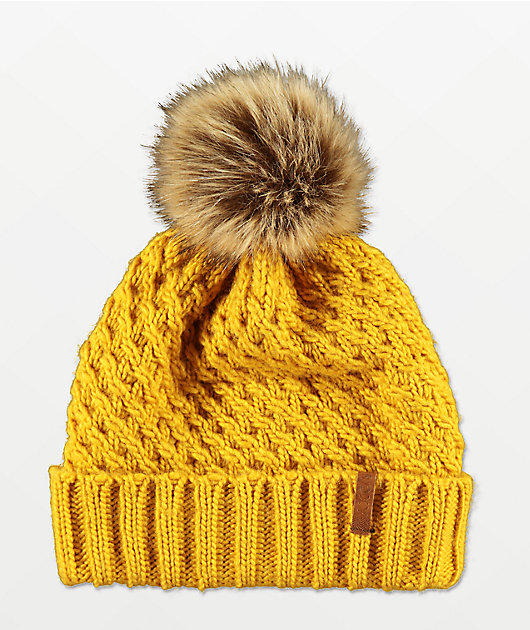Roxy Blizzard Spruce Yellow Beanie