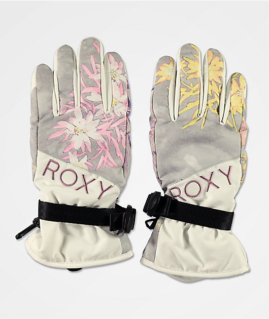 Roxy Jetty Micro Chip Snowboard Gloves