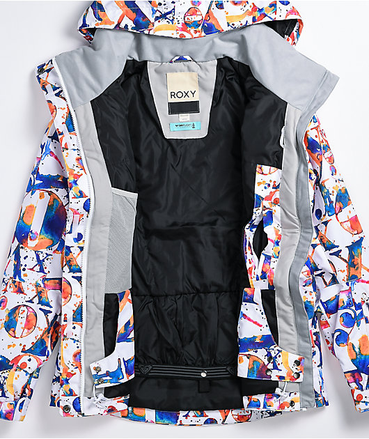 Roxy Jetty Multi 10K Snowboard Jacket