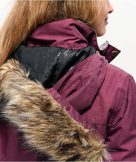 Roxy Meade Grape Wine 10K Snowboard Jacket