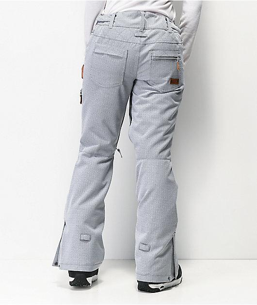 Roxy Nadia 10K pantalones de snowboard grises