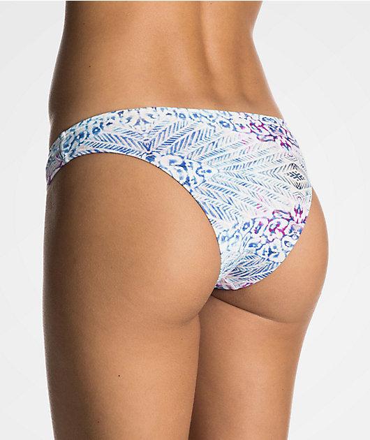 Roxy Sneak Peak Surfer Bikini Bottom