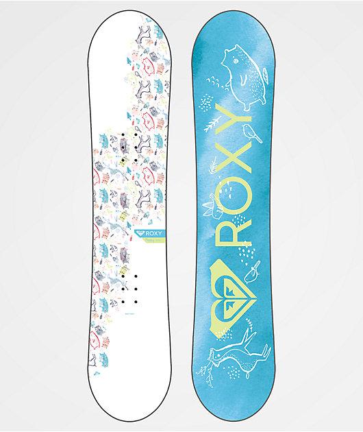 Roxy Youth Poppy Snowboard Package 2019