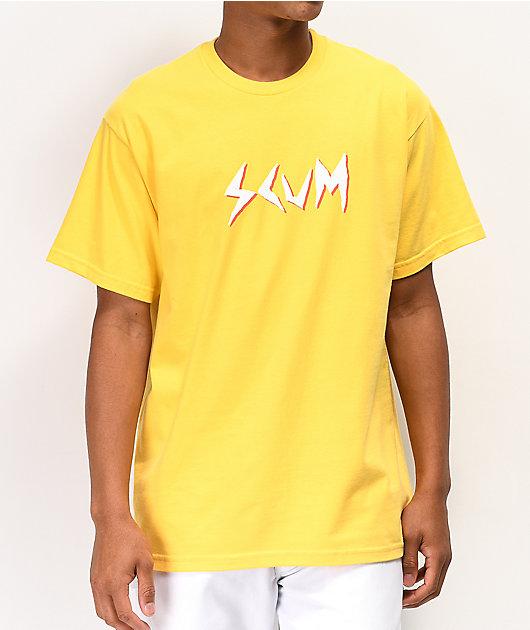SCUM Death 2 Fashion camiseta dorada