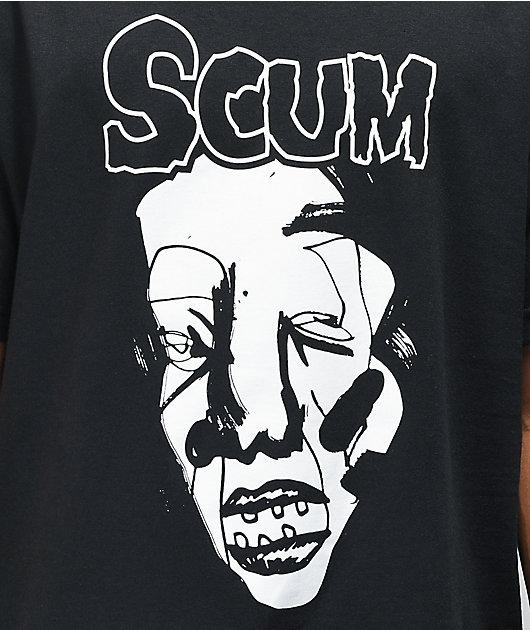SCUM Is Fit camiseta negra