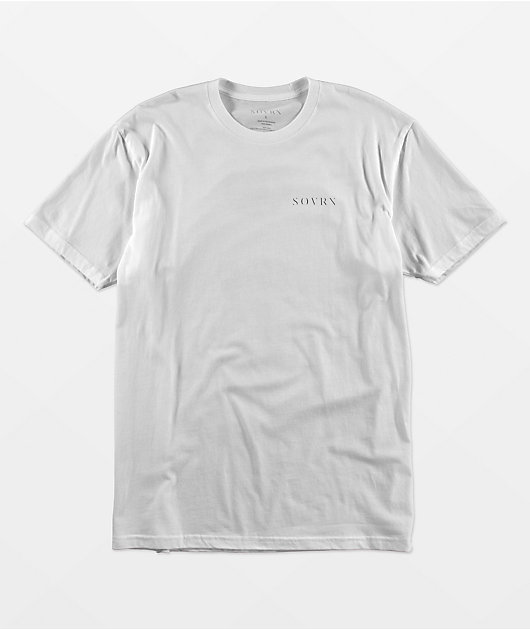 SOVRN Nature Of Wars White T-Shirt