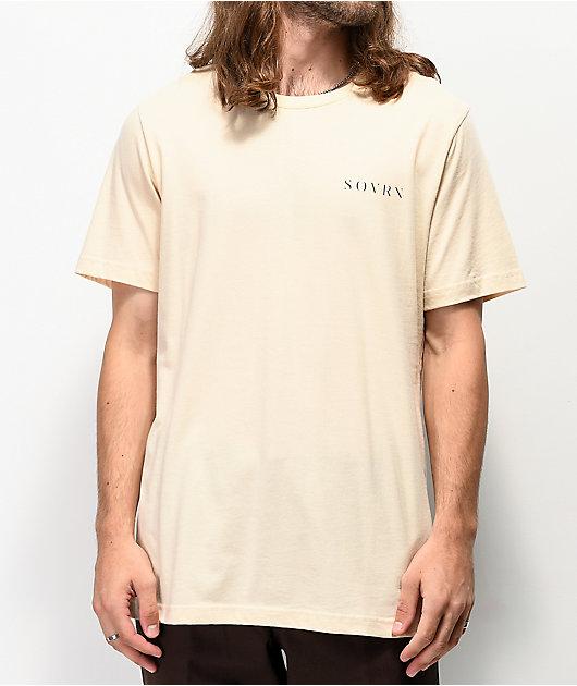SOVRN Sediment camiseta natural