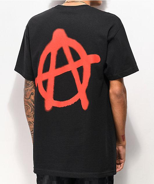 SUS BOY Anarchy Black T-Shirt