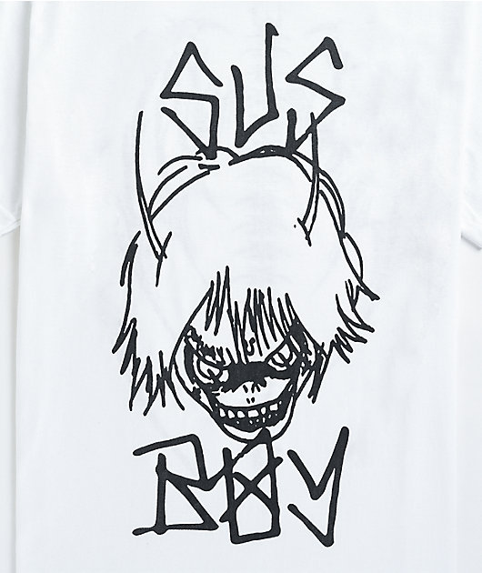 SUS BOY Demon White T-Shirt