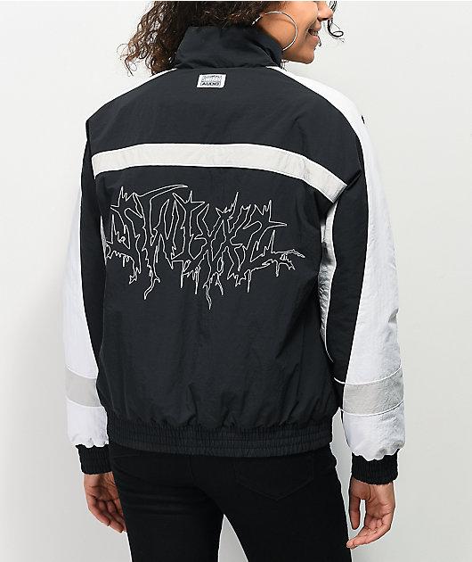 SWIXXZ Backstage Black Windbreaker Jacket