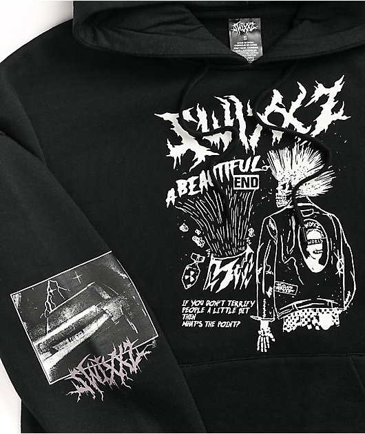 SWIXXZ Beautiful End Black Hoodie