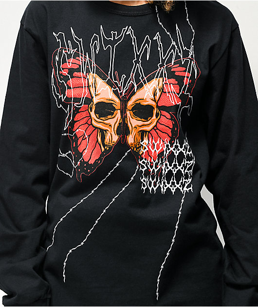 SWIXXZ Cutthroat Black Long Sleeve T-Shirt