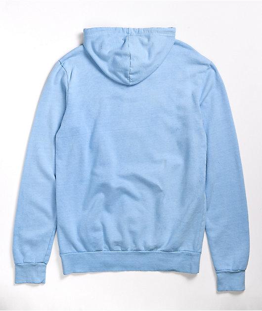 SWIXXZ Dark Reflection Light Blue Hoodie