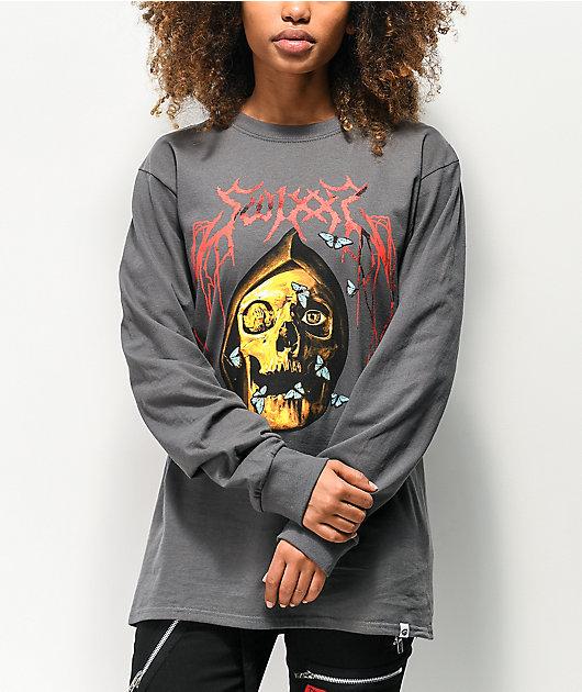 SWIXXZ Decay camiseta de manga larga gris