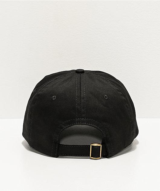 SWIXXZ Dream Black Strapback Hat