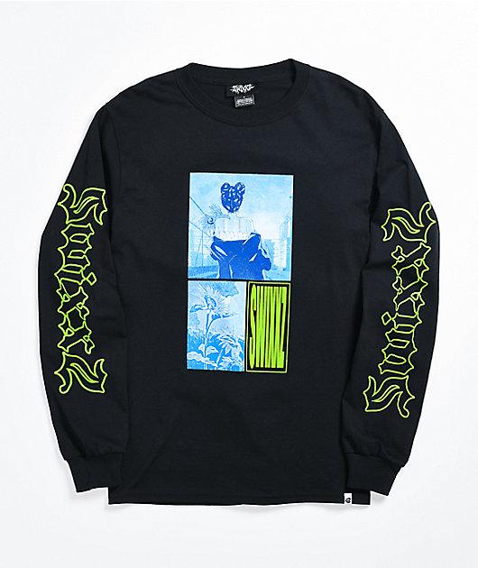SWIXXZ Get Me Black Long Sleeve T-Shirt