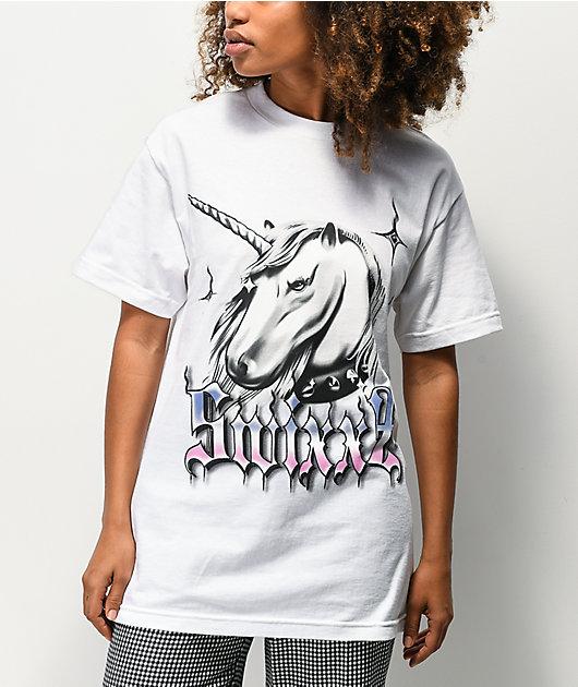 SWIXXZ Mythical White T-Shirt