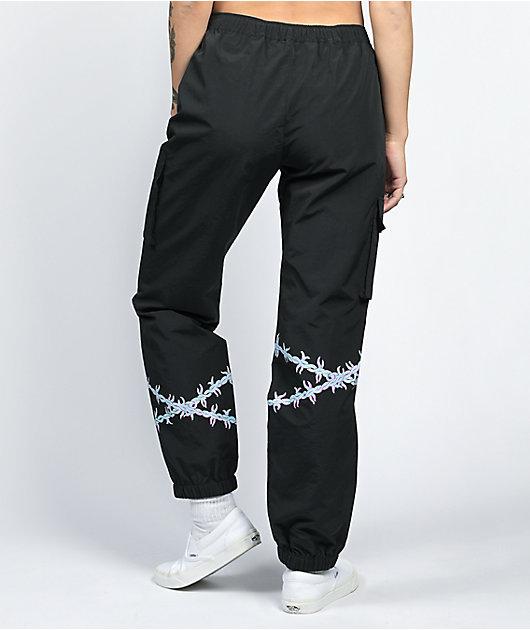 SWIXXZ Rotten Black Cargo Pants