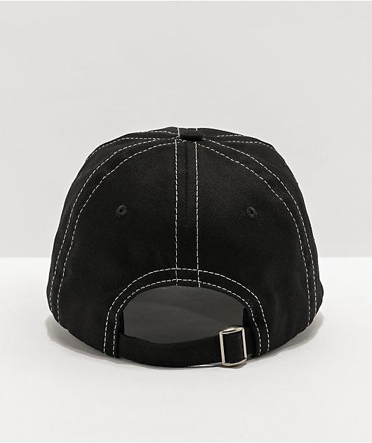 SWIXXZ Rotten Black Strapback Hat