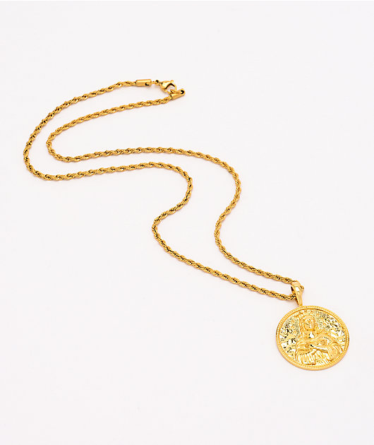 Saint Midas Mary Immaculate Yellow Gold 20