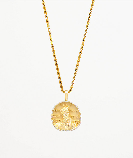 Saint Midas Michelangelo's Moses Yellow Gold 20