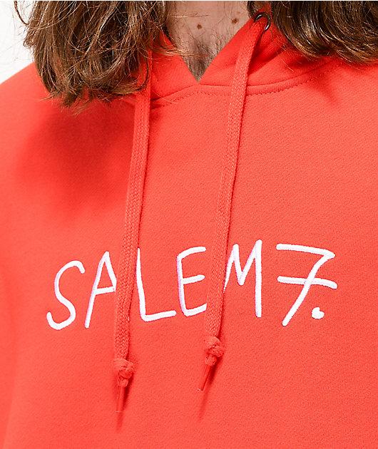 Salem7 Goodie Horn Red Hoodie