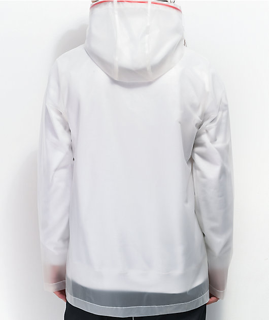 Salem7 Heartbreak Translucent Rain Jacket