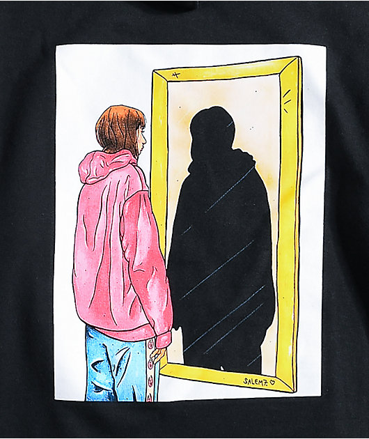 Salem7 Stranger Black Hoodie