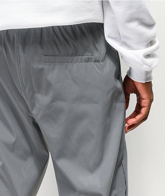 Salem7 pantalones de chándal grises reflectantes