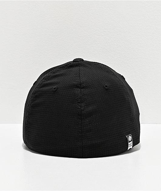 Salty Crew Alpha Tech Black FlexFit Hat