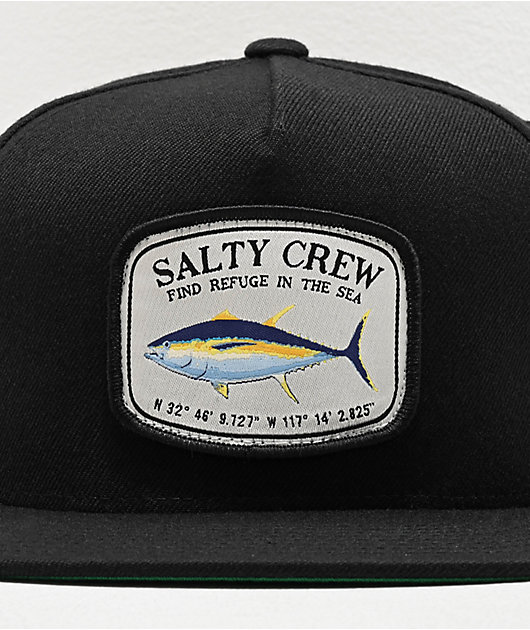 Salty Crew Pacific gorra negra