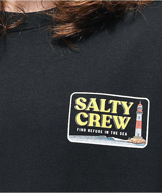 Salty Crew Point Loma Black T-Shirt