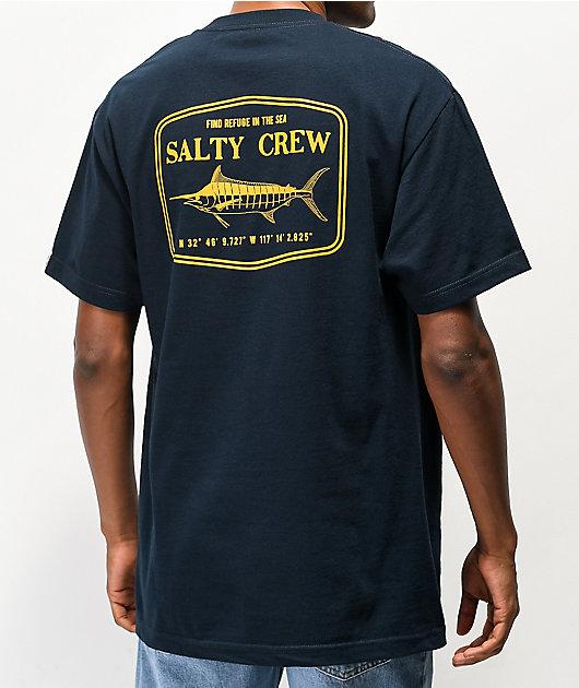 Salty Crew Stealth Navy T-Shirt