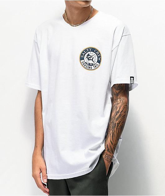 Salty Crew Stream White T-Shirt