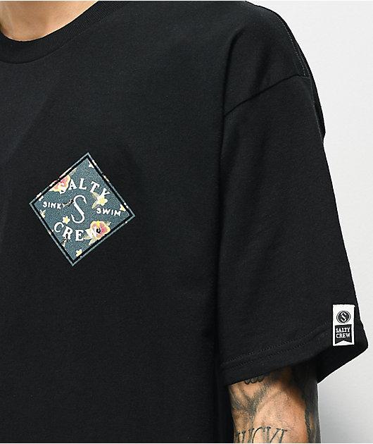 Salty Crew Tippet Isle camiseta negra