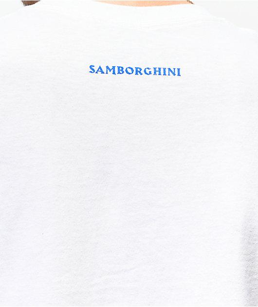Samborghini Give Me Bread White T-Shirt