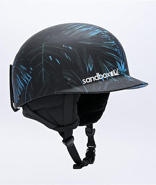 Sandbox Classic 2.0 Tropic Storm Blue & Black Snowboard Helmet