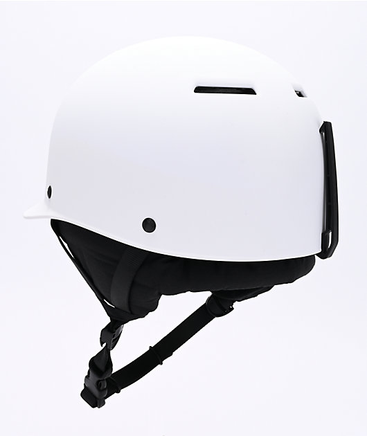 Sandbox Classic 2.0 White Snowboard Helmet